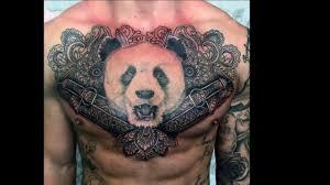 панда симпотичный медведь для тату значение фото и