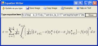 textbox input formulas