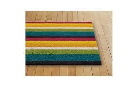 chilewich floor mat. Chilewich Bold Stripe Shag Floor Mat