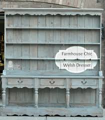farmhouse chic furniture. Farmhouse Chic Welsh Dresser Makeover, Painted Furniture, Woodworking Projects Furniture
