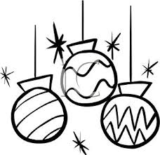 christmas ornament clipart black and white. For Christmas Ornament Clipart Black And White