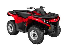 2016 can am outlander1000r dps red front right