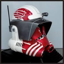 custom made star wars commander thorn size helmet prop