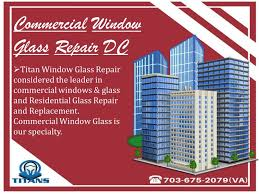 commercial window glass repair dc commercial window