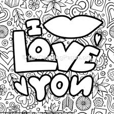 I Love You Coloring Pages For Boyfriend Getcoloringpagesorg