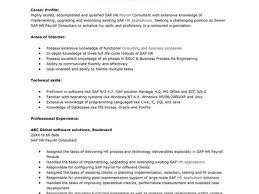 Sap Hr End User Resume Sap Mdm Resume Samples Examples Of Pmr English  Essays on Sap