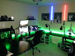 office set up ideas. Home Office Setup Ideas Best Lovable Gaming Desk About Set Up I