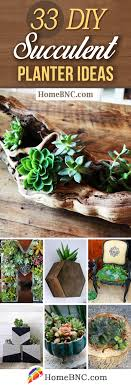 33 cute diy indoor and outdoor succulent planter ideas to accent your home