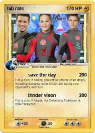 Small Picture Pokmon lab rats 4 4 save the day My Pokemon Card