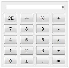 javascript calculator buttons calculator keyboard support  image