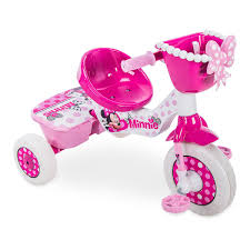Huffy Disney Minnie Mouse Lights And Sounds Folding Trike Minnie Mouse Tricycle By Huffy Minnie Mouse Toys Minnie