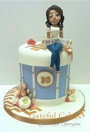 Tasteful Cakes By Christina Georgiou 30th Birthday Cake