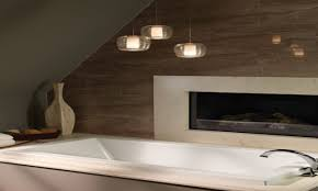 Bathroom Pendant Lights Modern Master Bathroom With Luxury Pendant Lights Lighting For