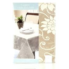 fl embossed tan round tablecloth brown plastic tablecloths for