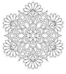 Mandala Coloring Pages Free Printable Mandala Color Pages Adults
