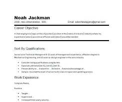 Generic Resume Objective Classy Resume Objective Examples For Part Time Jobs As Well As Resume