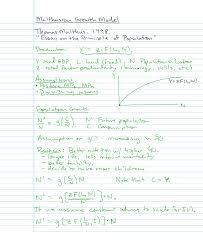net pencasts lessons for undergraduate economics malthusian growth model framework