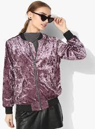 purple solid er jacket