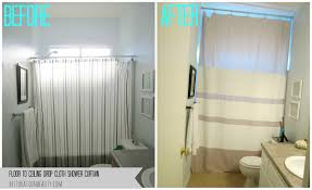 floor to ceiling drop cloth shower curtain i have a