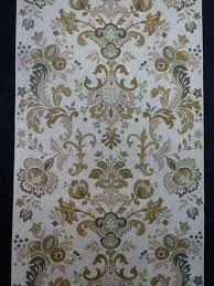 Groen Bruin Medaillon Vintage Behang Funkywalls Dé Webshop Voor