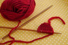 Knitted Heart Pattern Impressive How To Make Knitted Heart Coasters Mollie Makes