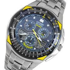 citizen eco drive skyhawk mens titanium watch jr3090 58l