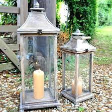 extra large outdoor candle lanterns large outdoor lanterns ideas