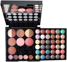 amazon nyx professional makeup makeup artist kit35 eyeshadows 3 bronzers 5 blushers 5 lip colors applicator mirror makeup sets beauty