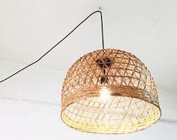 plug in overhead lighting. interesting plug plug in pendant lightbedroom chandeliers bamboo basket lighting  size 45cmplug on in overhead lighting