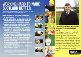 Snp Scottish Election Leaflet, 2011 | Accession Number:spa.7… | Flickr
