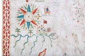 Portolan Charts Rare And Unusually Extensive Portolan Chart By Distinguished