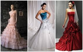 would you wear a wedding dress with color dressilyme s blog