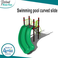 curved slide swimming pool curved slide at rs 95000 piece rohini sector 3