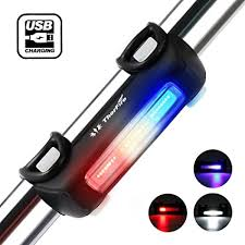 ThorFire Ultra Bright <b>Bike Light</b> USB Rechargeable Bicycle Tail Light ...