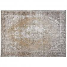 overdyed rugs medallion fl design