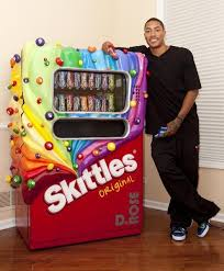 Skittles Vending Machine Beauteous I Found 'Life Size Skittles Candy Machine' On Wish Check It Out