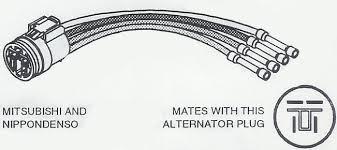 14153 denso alternator wiring just another wiring diagram blog • alternator wiring harness connectors for import vehicles rh store alternatorparts com nippondenso alternator wiring denso alternator parts
