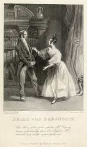 elizabeth tells her father that darcy was responsible for uniting lydia and wickham one of the two earliest ilrations of pride and prejudice
