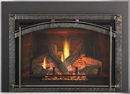heat glo escape gas firebrick insert portland for awesome gas fireplace