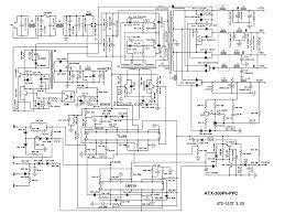 Circuit large size atx power supply circuit diagram zen sto atch circuit xtal oscillator