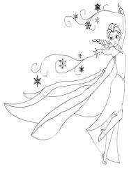 Disegni Da Colorare Frozen Cartone Animato Disney