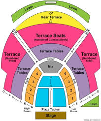 Cricket Amphitheatre Seating Chart 57 High Quality Chastain Park Amphitheatre Seating Map