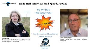 TNT Show - John Drummond interviewing Linda Holt. #TNTShow - YouTube