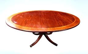 antique solid wood dining table round wood dining table with leaf large 8 antique round regency