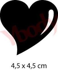 Kopieren und einfügen von herz symbol zeichen und emoji zu deinem instagram und facebook. Schablone Herz Tattoo Schablone Fur Kinder