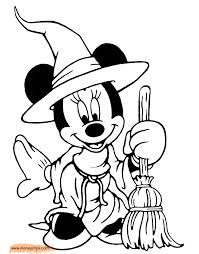 Small Picture Mickey Halloween Coloring Pages Coloring Coloring Pages