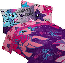 my little pony twin bedding stars are out comforter sheets