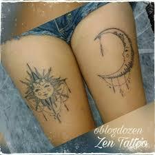 Tattoo Uploaded By Zen Tattoo Taquaritinga Zen Tattoo Sol E Lua