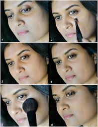 how to apply concealers to cover dark circles indian skin makeup tutorial steps