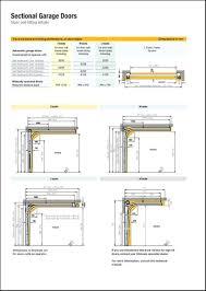 full size of door design single garage door size uk standard height designs how wide